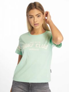 Just Rhyse / T-Shirt Santa Ana in turquoise