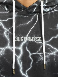 Just Rhyse / Hoodie Thunder City in black