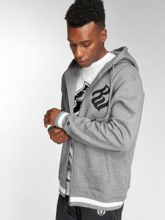 Rocawear / Zip Hoodie Logo in grey