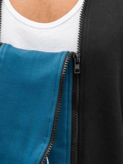 Bangastic / Zip Hoodie Doppel Zip II in black