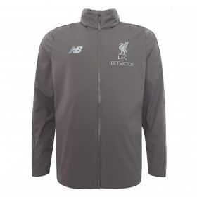 Liverpool Elite Training Precision Rain Jacket - Grey