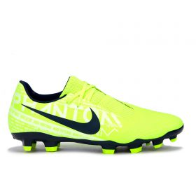 Nike Phantom VNM Academy Firm Ground Football Boots - Volt