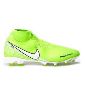 Nike Phantom VSN Elite DF Firm Ground Football Boots - Volt