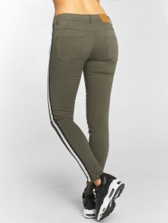 Just Rhyse / Skinny Jeans Giny in olive