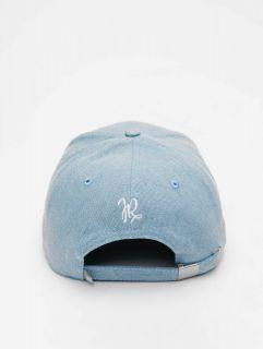 Just Rhyse / Snapback Cap Palatka Baseball Shape in blue