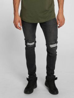 Bangastic / Slim Fit Jeans Vinny in black
