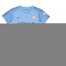 Manchester City Home Stadium Kit 2018-19 - Little Kids with Nadim 10 printing