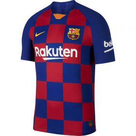 Barcelona Home Vapor Match Shirt 2019-20 - Kids with Vidal 22 printing
