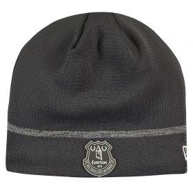 Everton New Era Skull Knit - Grey - Adult