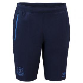 Everton Pro Fleece Shorts - Dark Blue