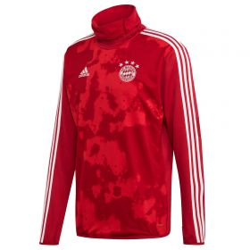 FC Bayern Pre Match Warm Top - Red
