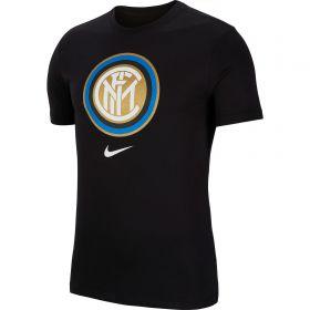 Inter Milan Nike Evergreen Crest T-Shirt - Mens