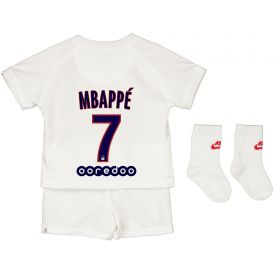 Paris Saint-Germain Third Stadium Kit 2019-20 - Infants with Mbappé 7 printing