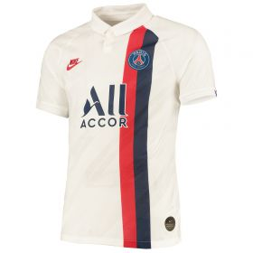 Paris Saint-Germain Third Vapor Match Shirt 2019-20 with Bakker 25 printing