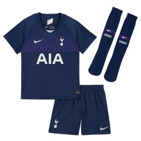 Tottenham Hotspur Away Stadium Kit 2019-20 - Infants with Lucas 27 printing