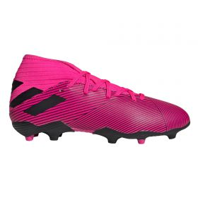 adidas Nemeziz 19.3 Firm Ground Football Boots - Pink - Kids