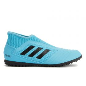 adidas Predator 19.3 Leather Astroturf Trainers - Blue - Kids