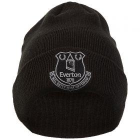 Everton New Era Core Crest Cuff Knit - Black - Junior