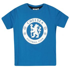 Chelsea High Build Graphic Tee - Blue - Infant