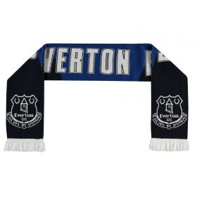 Everton Intarsia Scarf - Royal Blue
