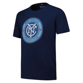 New York City FC Core T Shirt - Navy - Mens