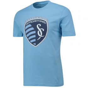 Sporting Kansas City Core T Shirt - Sky - Mens