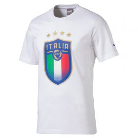 Italy Badge T-Shirt - White