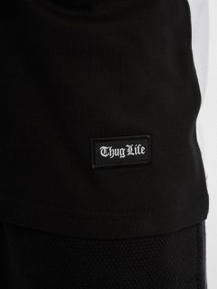 Thug Life / Tank Tops Leopard in black