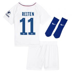 Chelsea Away Cup Stadium Kit 2019-20 - Infants with Reiten 11 printing