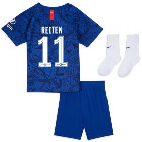 Chelsea Home Cup Stadium Kit 2019-20 - Infants with Reiten 11 printing
