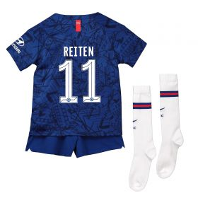 Chelsea Home Cup Stadium Kit 2019-20 - Little Kids with Reiten 11 printing