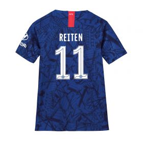 Chelsea Home Cup Stadium Shirt 2019-20 - Kids with Reiten 11 printing