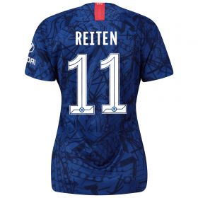 Chelsea Home Cup Stadium Shirt 2019-20 - Womens with Reiten 11 printing