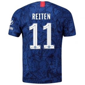 Chelsea Home Cup Stadium Shirt 2019-20 with Reiten 11 printing