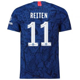 Chelsea Home Cup Vapor Match Shirt 2019-20 with Reiten 11 printing