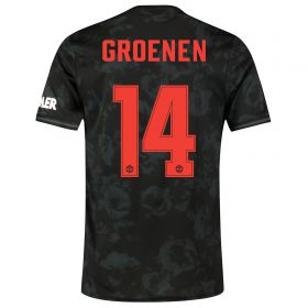 Manchester United Cup Third Shirt 2019 - 20 with Groenen 14 printing