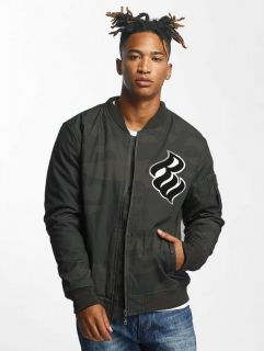 Rocawear / Bomber jacket Retro Army in camouflage