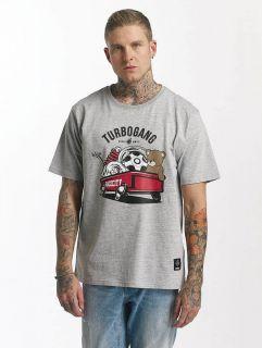 Мъжка тениска Dangerous DNGRS / T-Shirt Wagon in grey