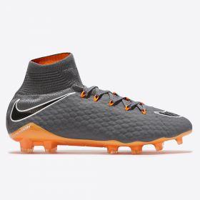 Nike Hypervenom Phantom 3 Pro Dynamic Fit Firm Ground Football Boots - Dark Grey