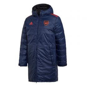 Arsenal Seasonal Long Coat - Navy