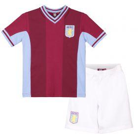 Aston Villa Boys Kit PJ - Claret/ Sky - Boys