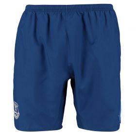 Everton Training Woven Shorts - Dark Blue