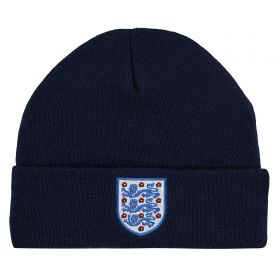 England Cuff Knit - Navy - Junior
