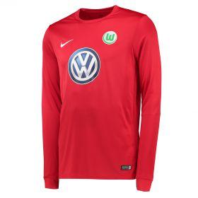 VfL Wolfsburg Goalkeeper Shirt 2016-17