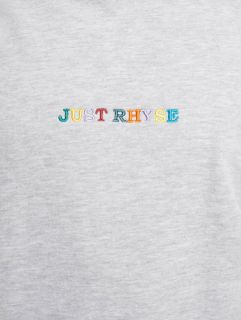 Just Rhyse / Hoodie Niceville in grey
