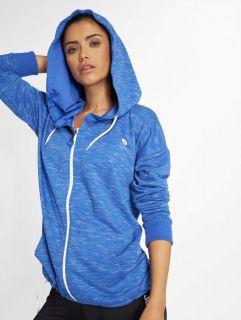 Just Rhyse / Zip Hoodie Akatore Active in blue