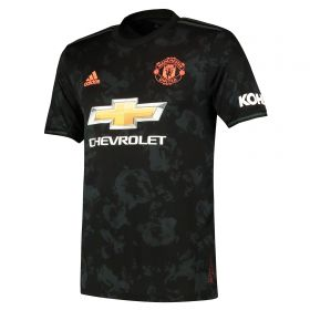 Manchester United Third Shirt 2019 - 20 with Young 18 printing