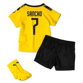 BVB Home Baby Kit 2019-20 with Sancho 7 printing