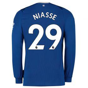Everton Home Shirt 2019-20 - Kids - Long Sleeve with Niasse 29 printing