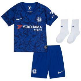Chelsea Home Stadium Kit 2019-20 - Infants with Abraham 9 printing